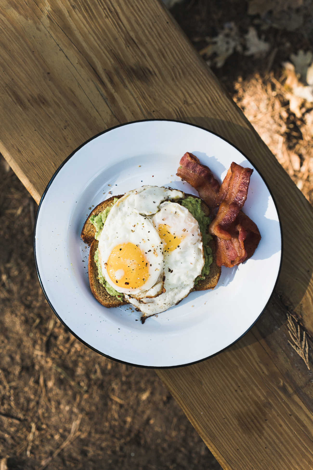 Campside Breakfast / See and Savour