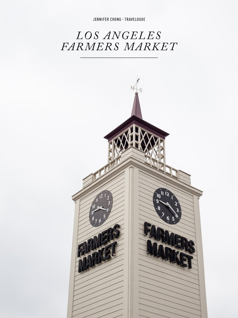 LA Farmers Market / blog.jchongstudio.com