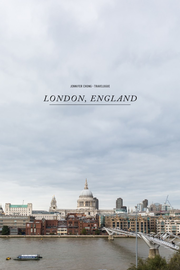 London, England / See and Savour