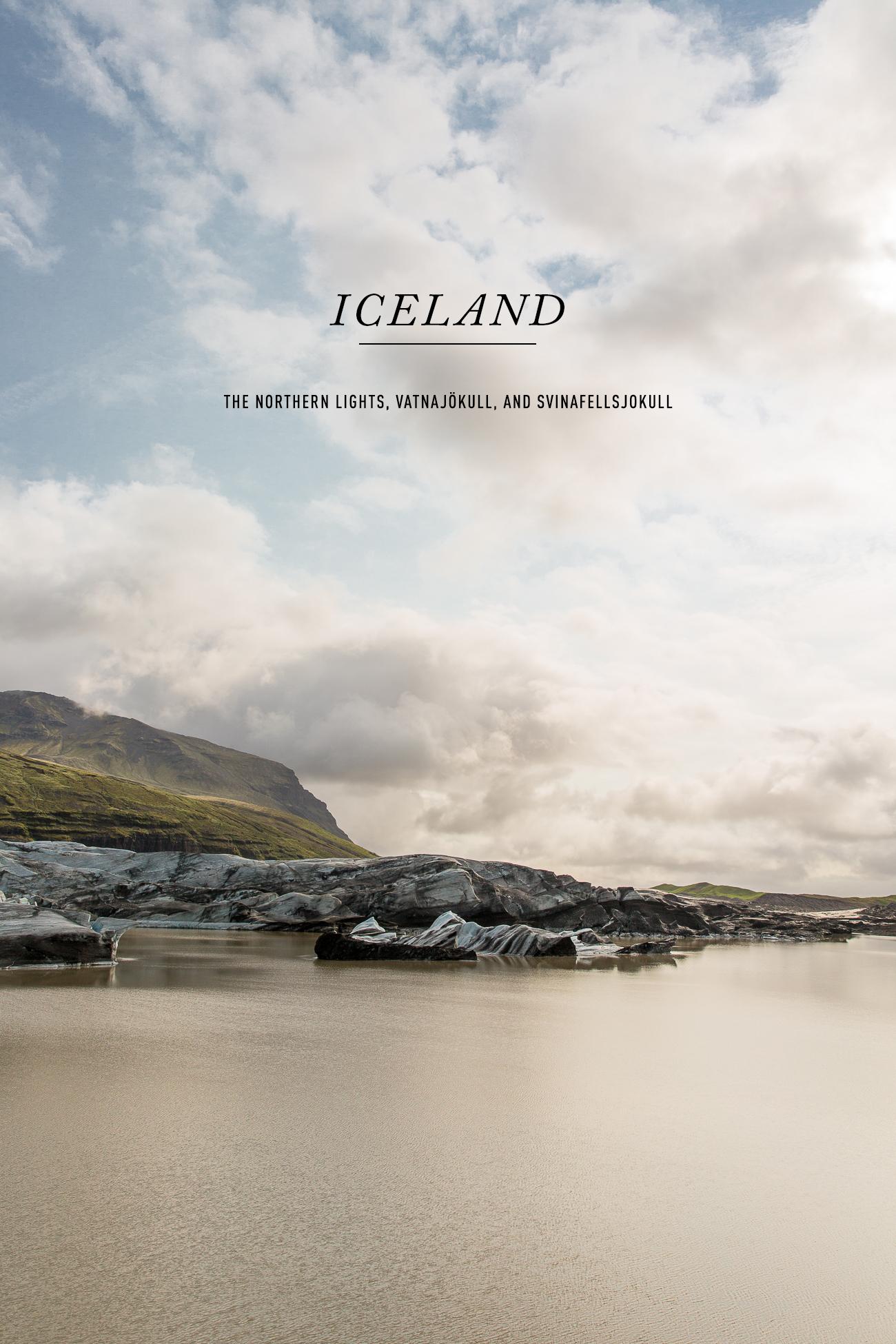Svinafellsjokull Iceland / See and Savour