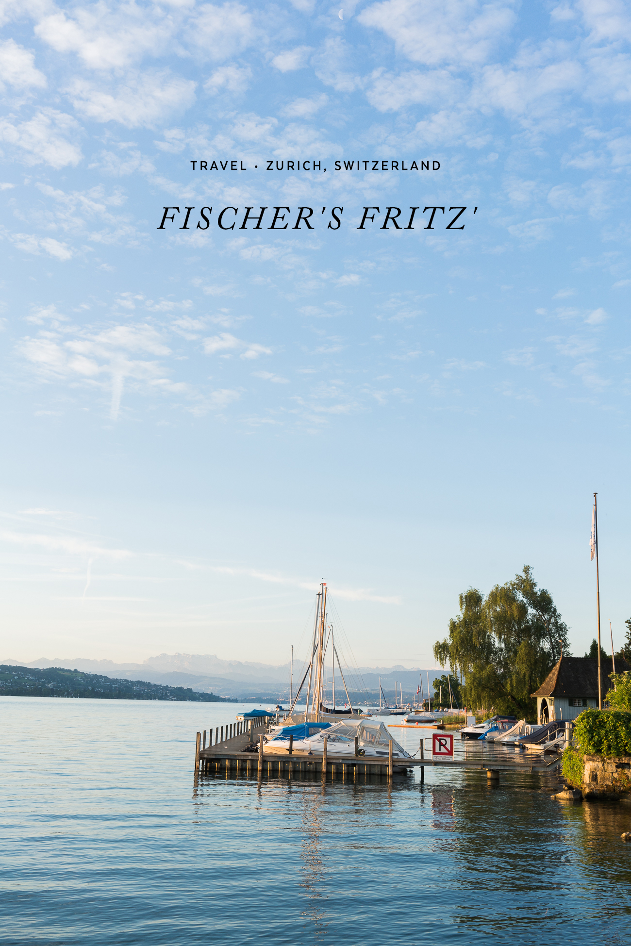 Visiting Fischer's Fritz' - Zurich, Switzerland /