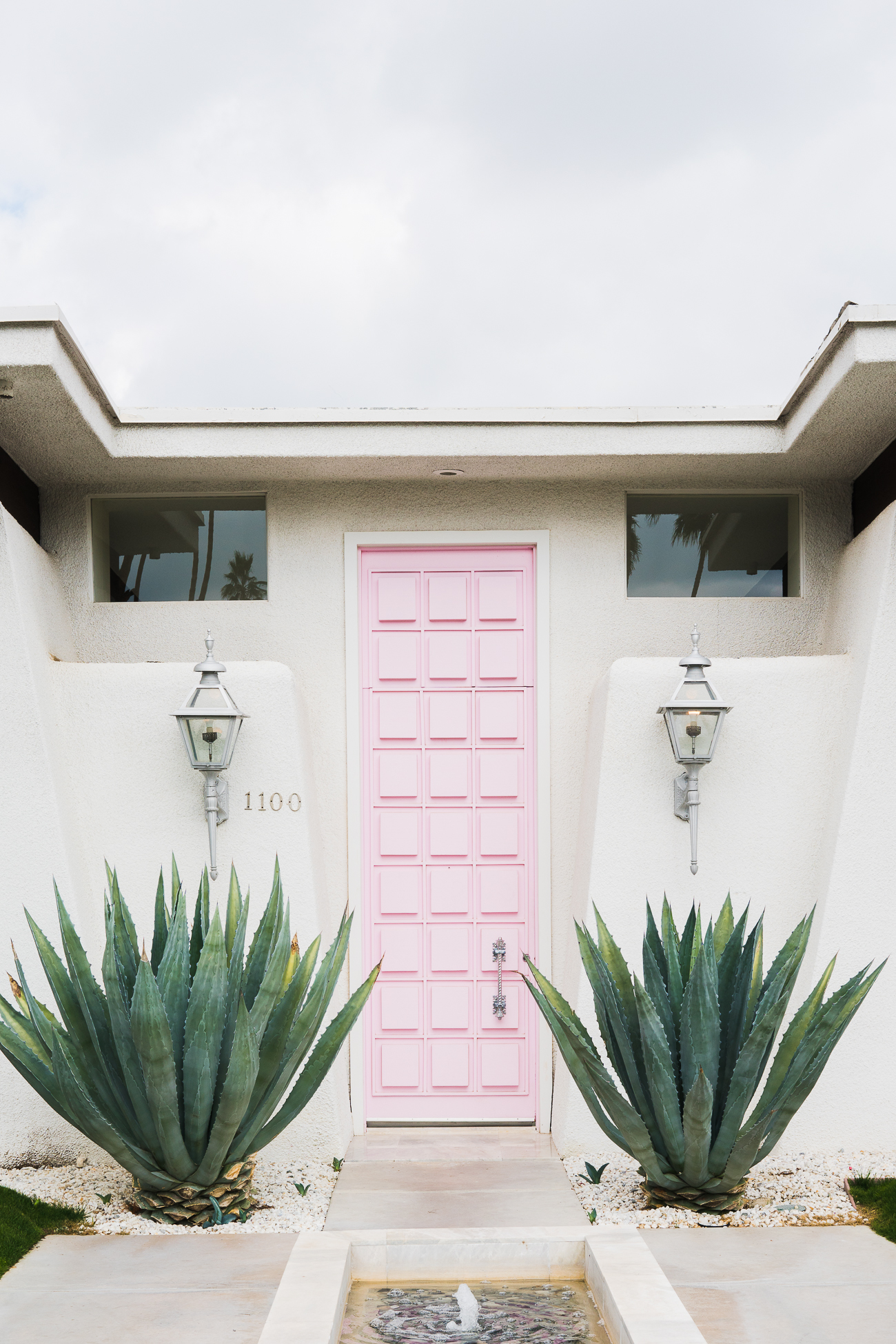 That Pink Door - Modernism Week / See and Savour