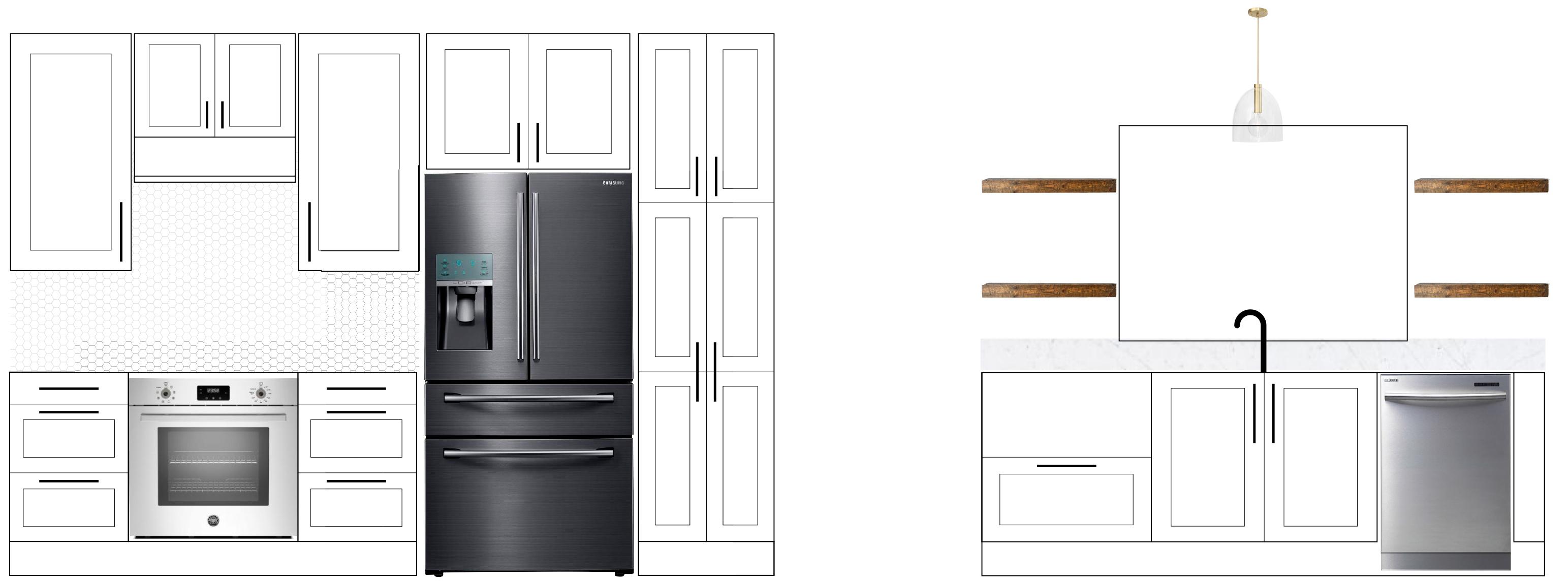 JChong Kitchen Elevation /