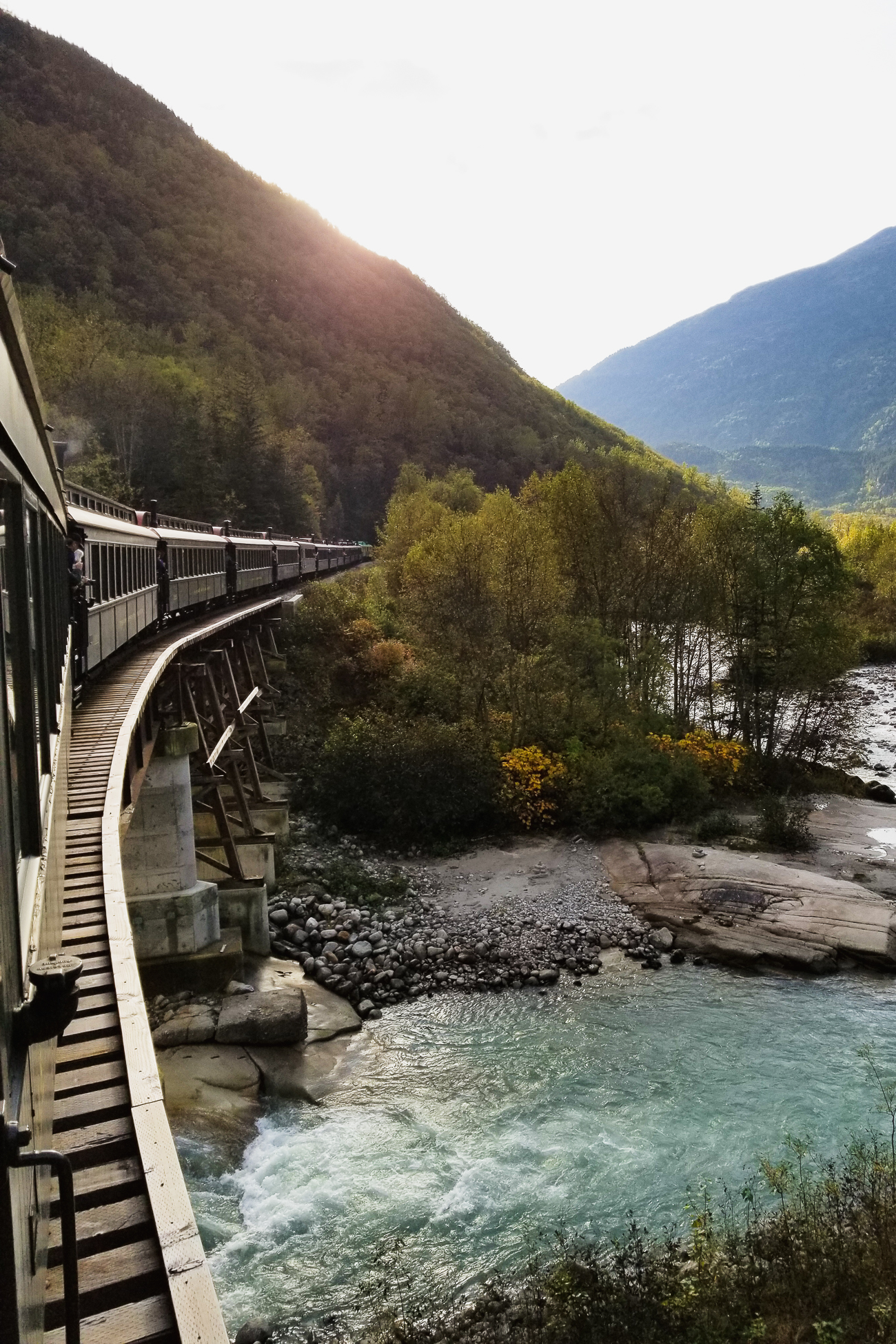 White Pass & Yukon Route Railroad - Alaksan Cruise / See and Savour