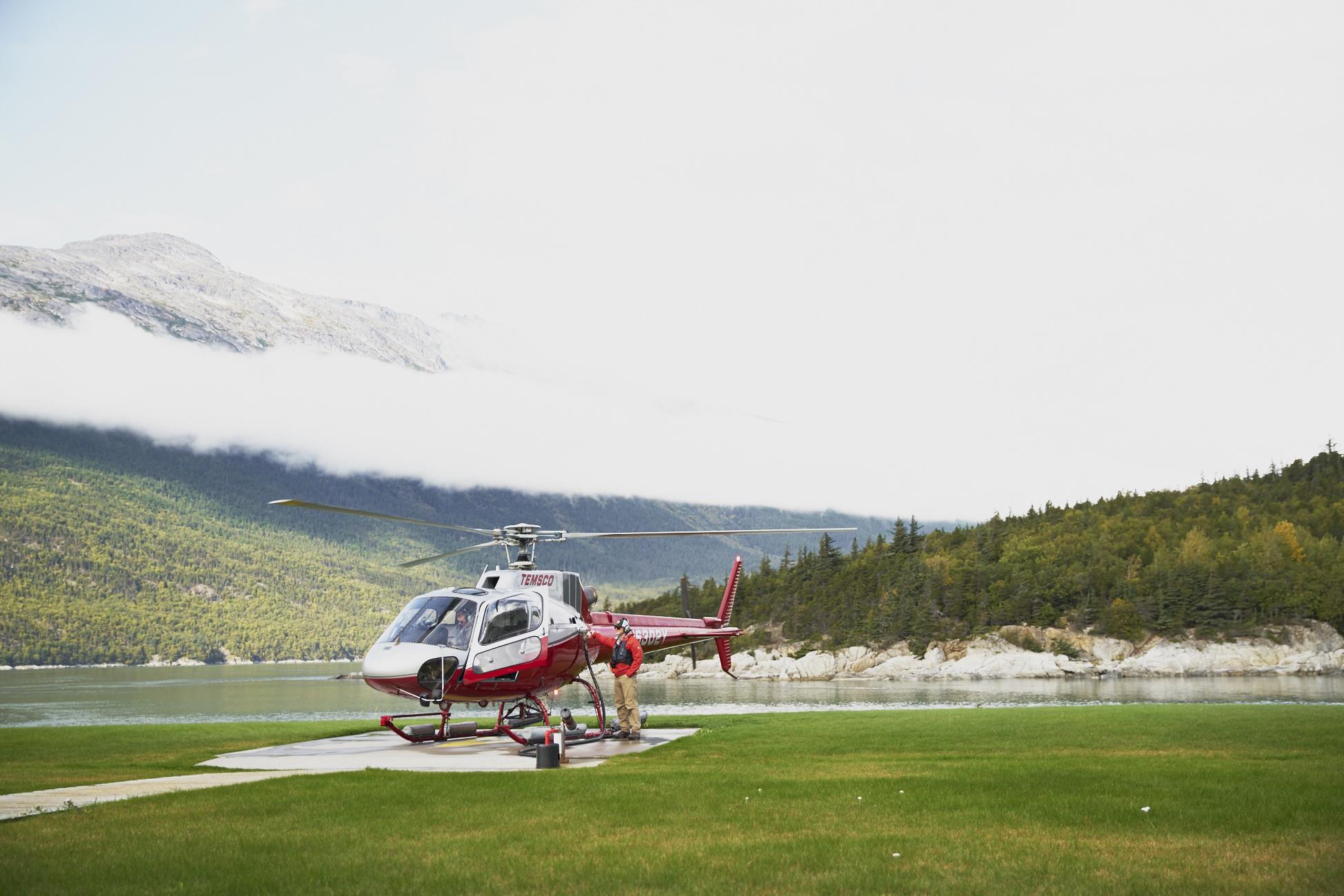 Shore excursions in Skagway Alaska /