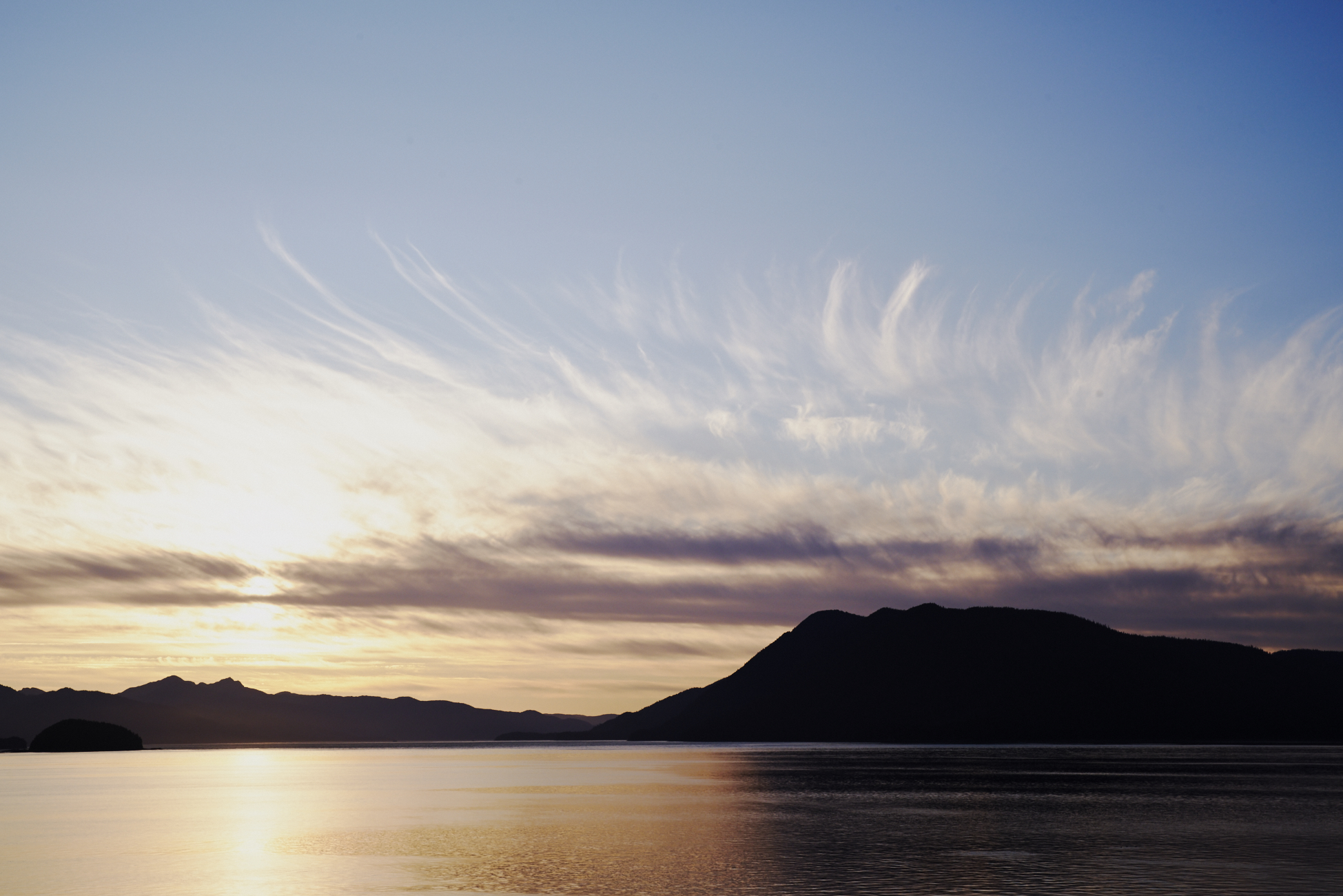 Sunset over Glacier Bay National Park - Alaskan Cruise / See and Savour