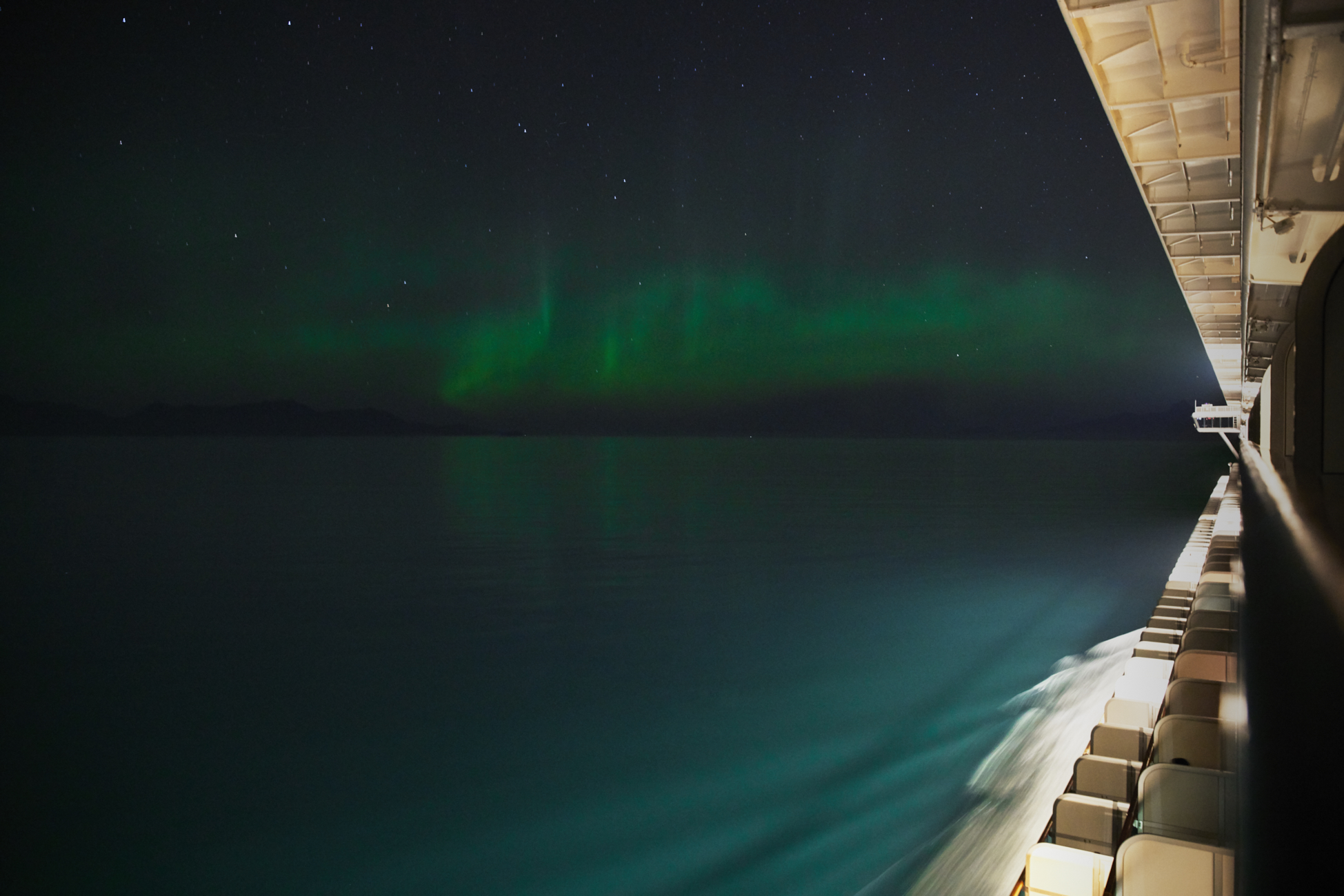 Northern Lights on an Alaskan Cruise / See and Savour