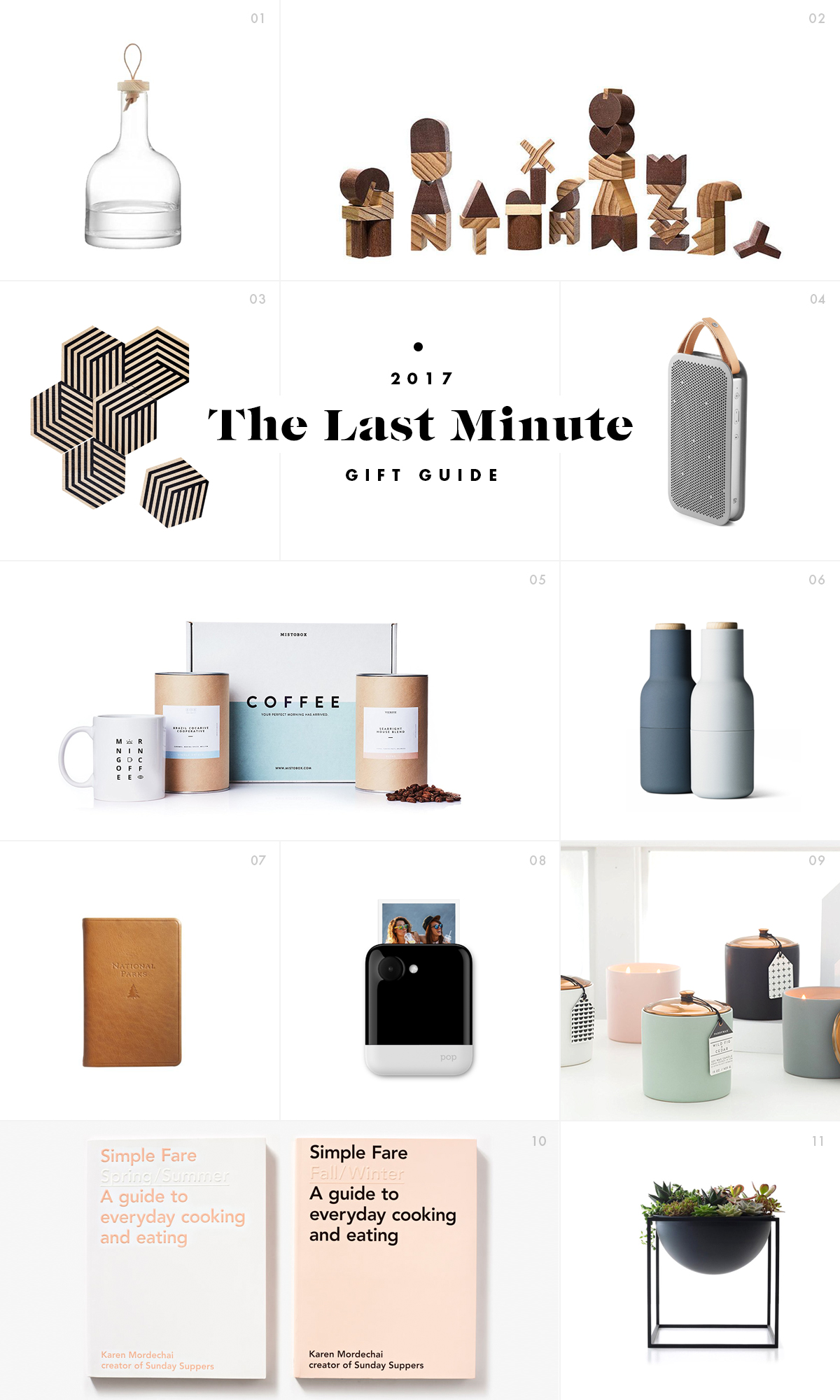 The Last Minute Gift Guide / See and Savour